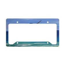 Marlin Deep Sea Fishing License Plate Holder
