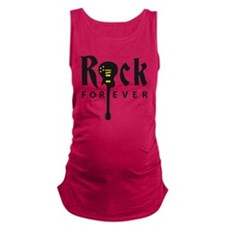 rock guitar Maternity Tank Top