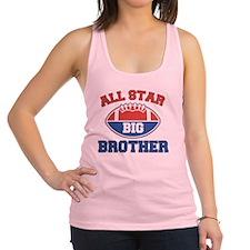 All Star Football Big Brother Racerback Tank Top