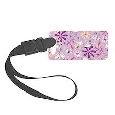 FlowerBotanical_Lilac_Large Luggage Tag