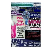 Liberal, Anti-Bush Political Postcards (Pack of 8)