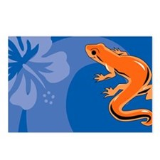 Newt Car Magnet 20 x 12 Postcards (Package of 8)