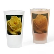 The Yellow Rose Drinking Glass