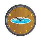 Paul Hunt Surfboards Wall Clock