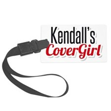 Kendalls Cover Girl Luggage Tag