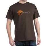 Horizontal vintage mandolin T-Shirt