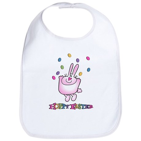 Hoppy Easter Bib