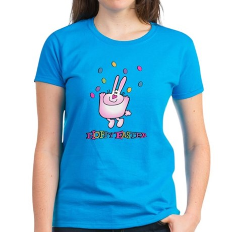 Hoppy Easter Women's Dark T-Shirt