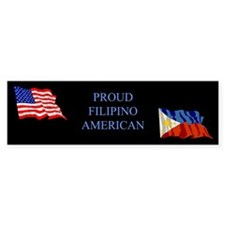Proud Filipino #1 Gifts Bumper Bumper Sticker