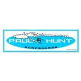 Paul Hunt Surfboards Bumper Car Sticker
