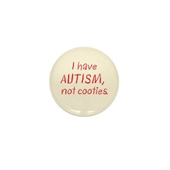 Not Cooties Mini Button (10 pack)