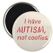 """Not Cooties 2.25"""" Magnet (100 pack)"""