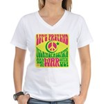 Let's Pretend Women's V-Neck T-Shirt