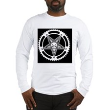 Speed Metal Cycling Pentagram  Long Sleeve T-Shirt