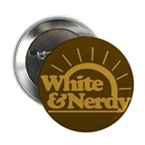 White &amp; Nerdy Button