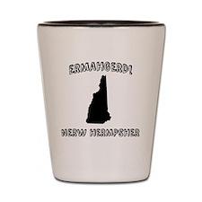 Ermahgerd! Nerw Hermpsher (NH) Shot Glass