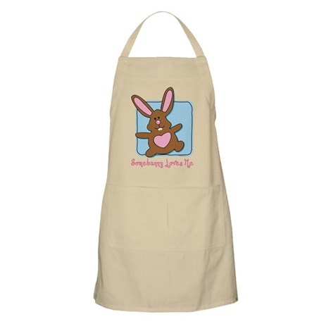 Somebunny Loves Me BBQ Apron