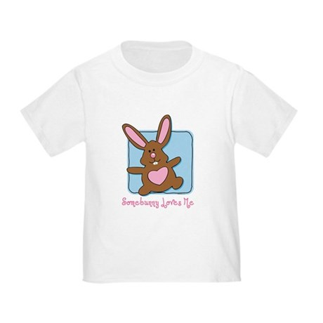 Somebunny Loves Me Toddler T-Shirt