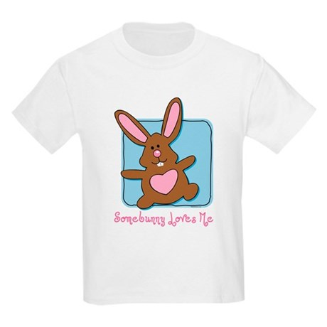 Somebunny Loves Me Kids Light T-Shirt