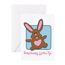 Somebunny Loves Me Greeting Cards (Pk of 10)