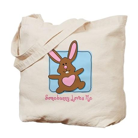 Somebunny Loves Me Tote Bag