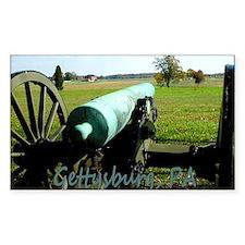 Canon on Battlefield, Gettysbu Decal