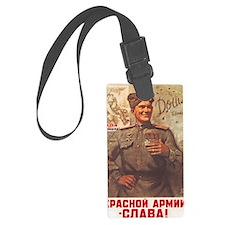 Red Army Luggage Tag
