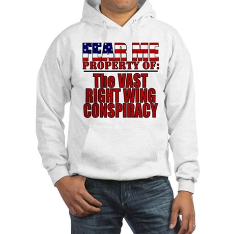 Property of Vast Right Wing Conspiracy Hooded Swea