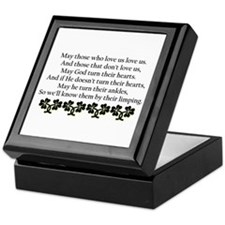 Irish Blessing? Keepsake Box