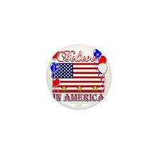 Believe In America Mini Button