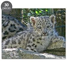 Snow Leopard Cub Puzzle