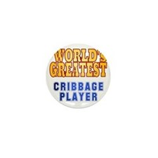 World's Greatest Cribbage Player Mini Button