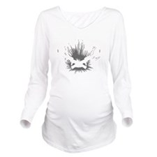Crowder Explosives Long Sleeve Maternity T-Shirt