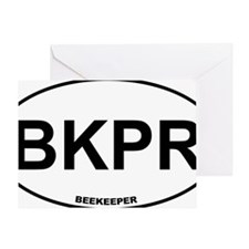 BKPR Beekeeper Greeting Card