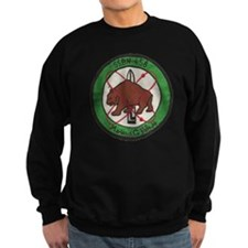 uss mariano g. vallejo patch tra Sweatshirt