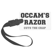 OCCAMS RAZOR - CUTS THE CRAP Luggage Tag