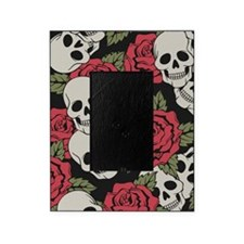Skulls and Roses Picture Frame