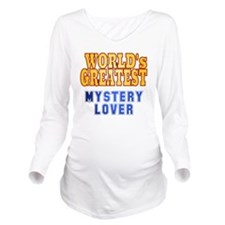World's Greatest Mys Long Sleeve Maternity T-Shirt