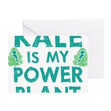 Kale is my power plant Greeting Card