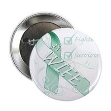 """Wife  is a Fighter and Survivor 2.25"""" Button"""