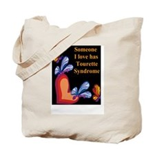 Unique Tourettes syndrome Tote Bag