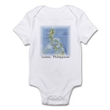 Luzon Map Gifts Infant Bodysuit