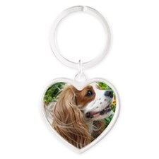 Dexter The Dog2 Heart Keychain