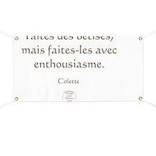 FAITES DES BETISES Banner
