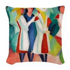 Macke Woven Throw Pillow