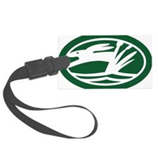 Swamp Rabbit Oval Sticker Luggage Tag
