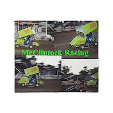 McClintock Racing Throw Blanket