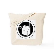 theremin instrument logo Tote Bag
