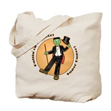 Frankie on the Ritz! Tote Bag