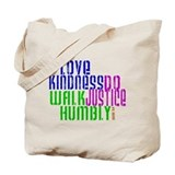 Do Justice, Love Kindness, Wa Tote Bag
